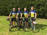 Edward Pearce LLP Cycling Team At Building For Life