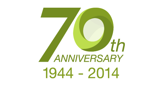 Edward Pearce 70 Year Anniversary logo