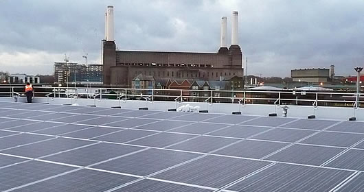 Rooftop Photo Voltaic Installation